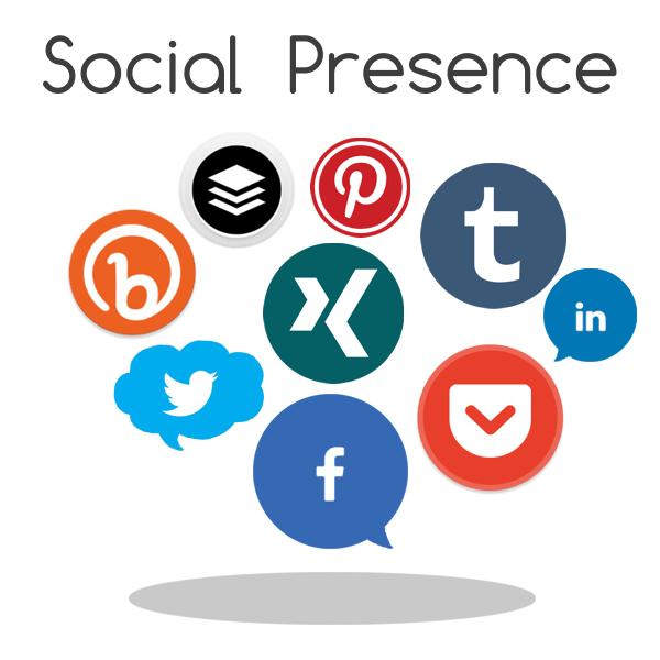 I piani Social Presence offrono un incremento significativo sui principali Social Network di maggior valore: Facebook, Google+, Linkedin, Twitter